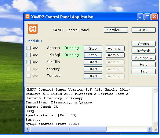 Xampp Sourceforge
