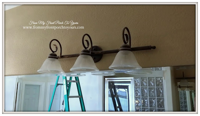 Master Bathroom Old Lighting-From My Front Porch To Yours