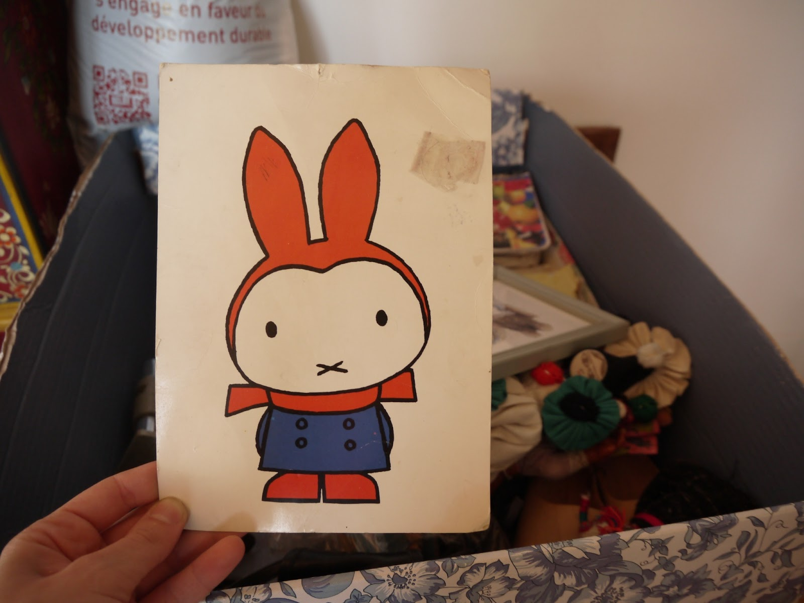 carte postale miffy