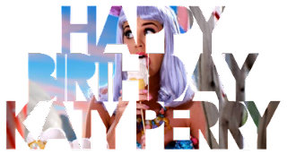 Happy Birthday Katy Perry