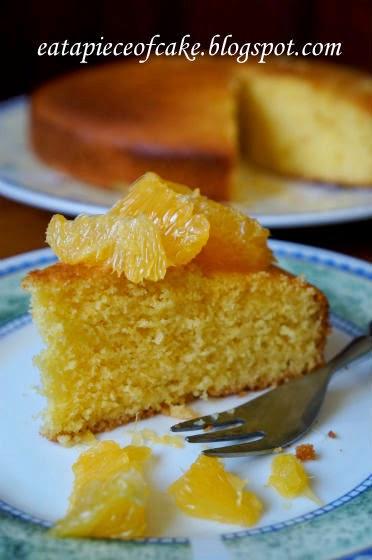 Piece of Cake: Orange Cornmeal Cake
