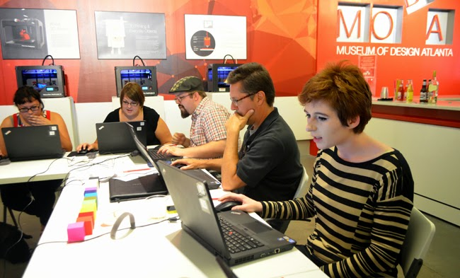 3D Printing Class at the Museum of Design Atlanta (MODA)