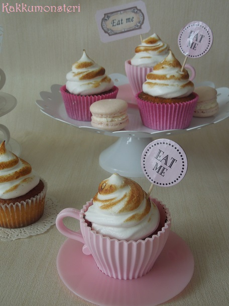 Lemon merengue cup cakes