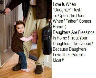 quotes and sayings daughter love their parents most