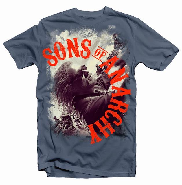 son of anarchy tshirt design