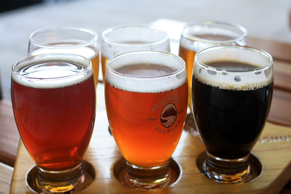 deschutes beer sampler