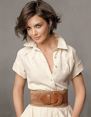 Katie Holmes Celebrity Hairstyle