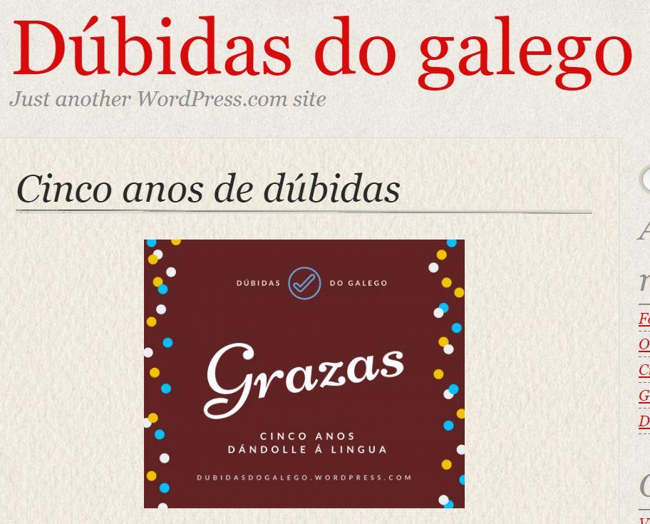 Dúbidas do Galego
