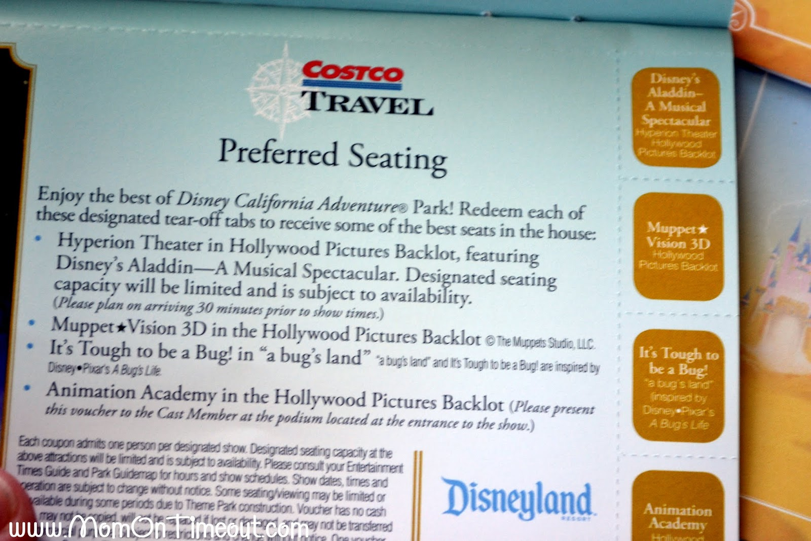 Disneyland discount coupons