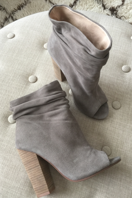 Kristin Cavallari Laurel Peep Toe Bootie - love these! & outfit ideas to go with them!
