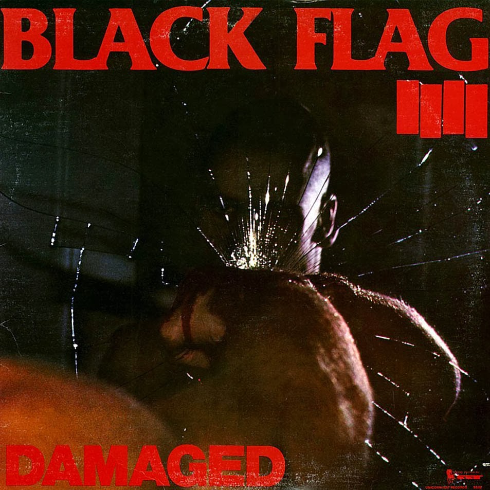 Black Flag Spray Paint Damage
