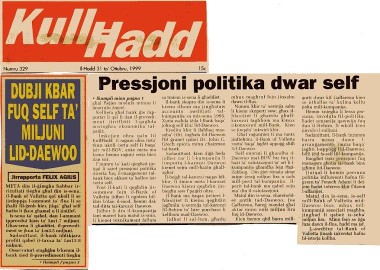 1 - John Dalli – A Corrupt EU Commissioner - 1