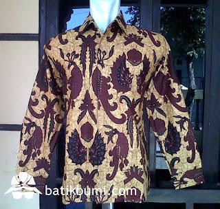 kemeja batik panjang