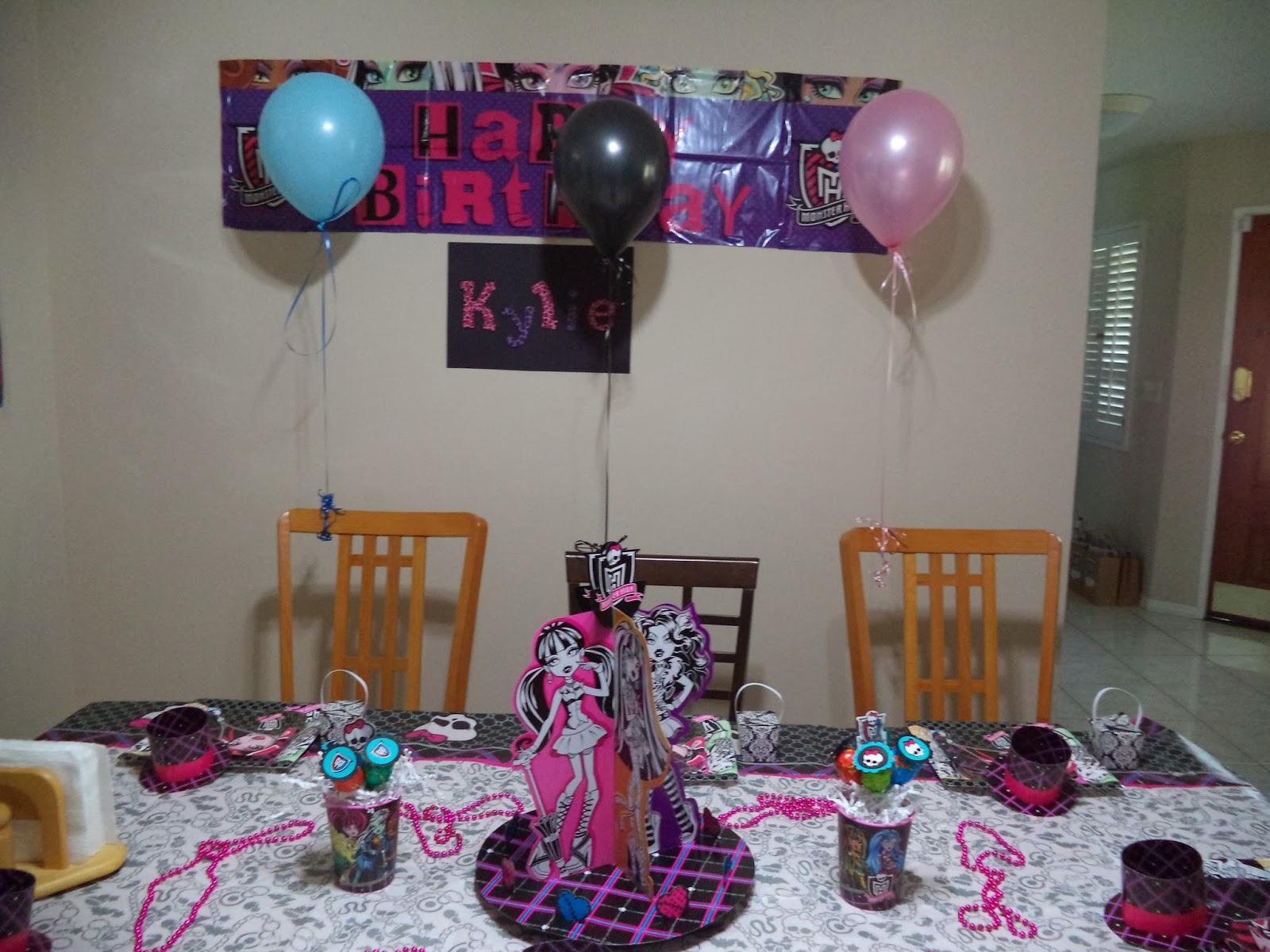 created with aloha two decorations and party favors for my