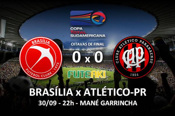 Veja o resumo da partida com os gols e os melhores momentos de Brasília 0x0 Atlético-PR pelas oitavas de final da Copa Sul-Americana 2015.