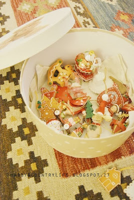 [ Christmas Decorations Box ] Sbirciando nella scatola degli addobbi.. - Shabby&CountryLife.blogspot.it