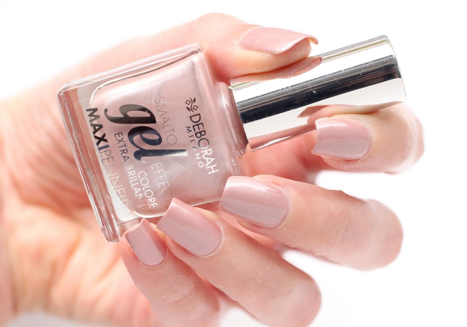 02 Nude Lingerie, 03 Nude Caramel & 30 Cammeo Pink de Deborah Milano ...