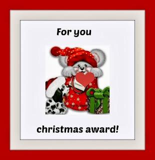 Christmas award!!