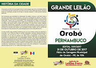 PARTICIPEM DO LEILÃO DE CARROS EM OROBÓ-PE DIA 31/10/2017