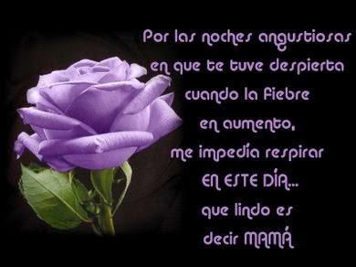 Frases De Feliz Día De La Madre: Por Las Noches Angustiosas