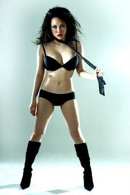 VINDY LEE SEKSI IN BLACK « Asian Models Gallery