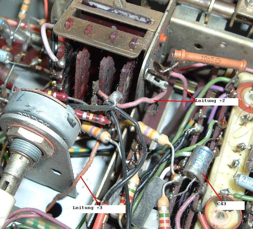 MC13020 im Saba Freudenstadt125   SABA Freudenstadt 125 AM/FM-Stereo