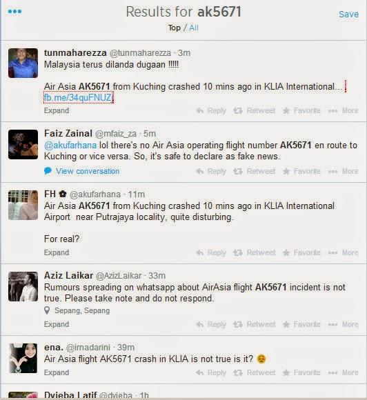 Kapal Terbang Air Asia 5671 Dari Kuching Ke Kuala Lumpur