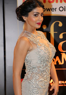 Actress Shriya Saran Stills in Designer Dress at IIFA Utsavam Awards 2016 Day 2   (27)