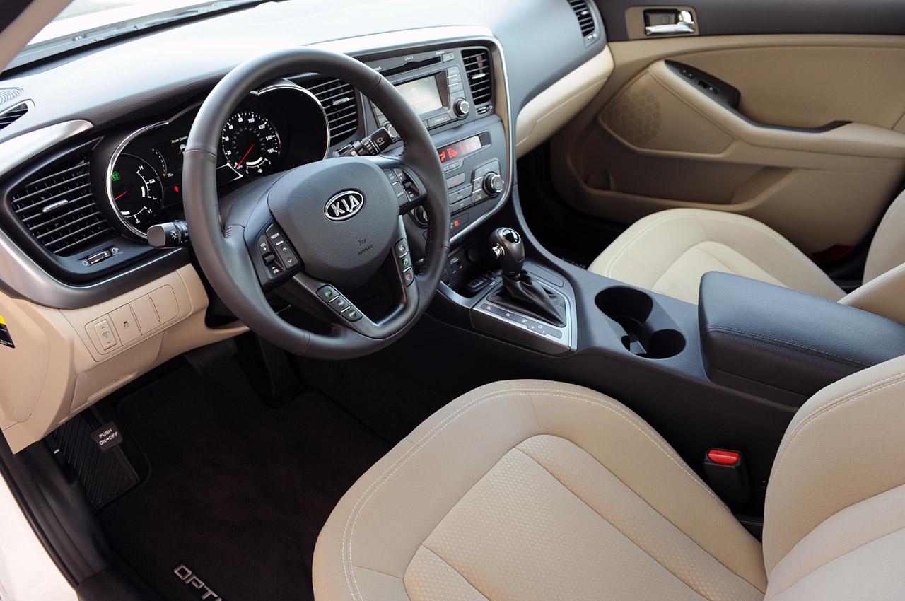 2012 Kia Optima Hybrid Interior Design