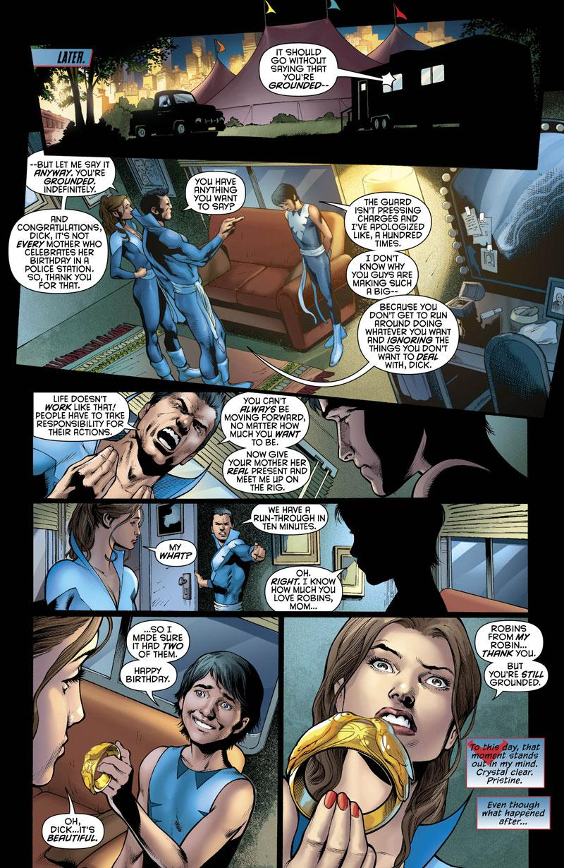 Nightwing  0 previewDick Grayson New 52 Nightwing