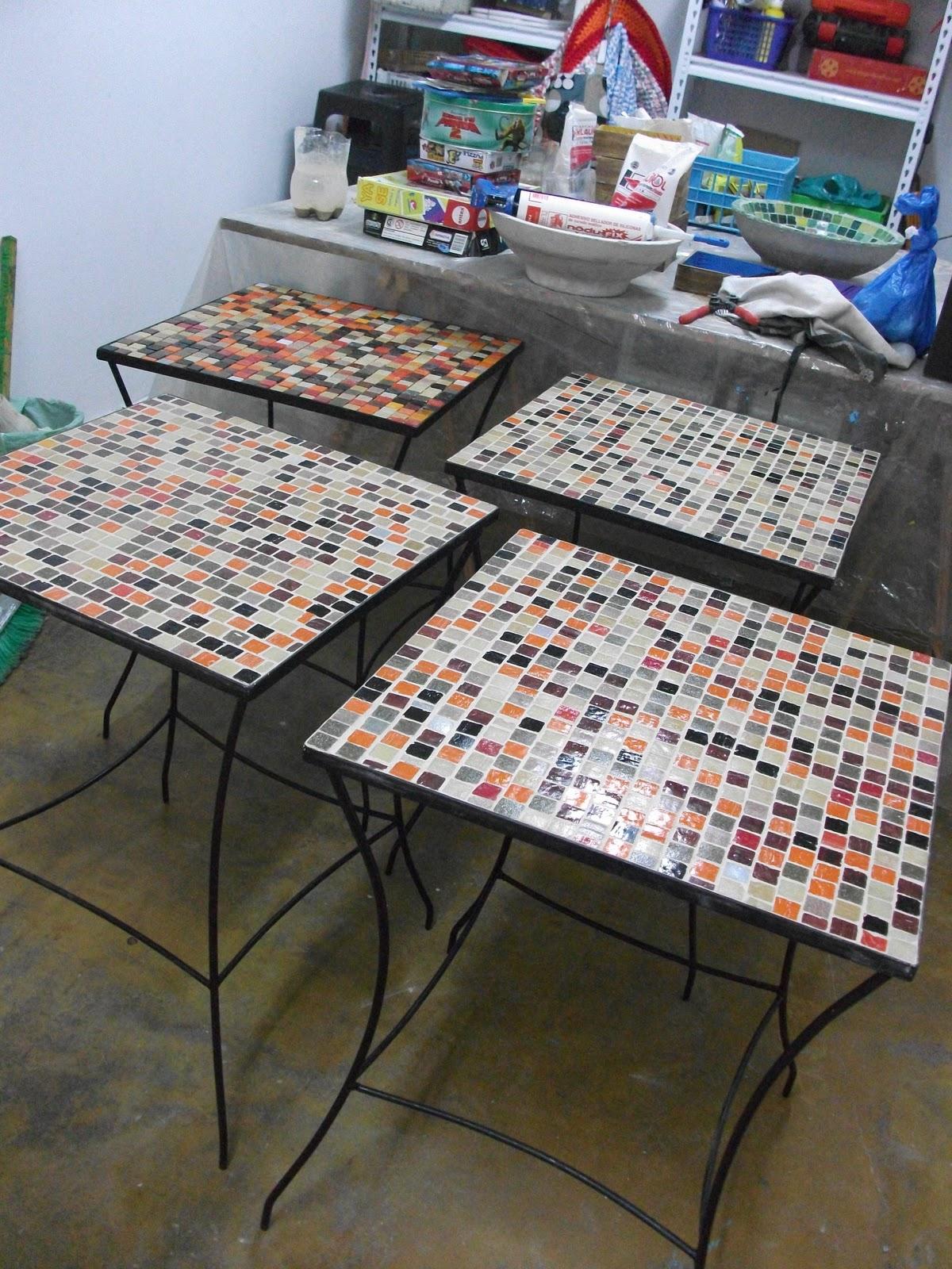Gwendydecoraci n mosaiquismo mesas para bar for Dibujos para mosaiquismo