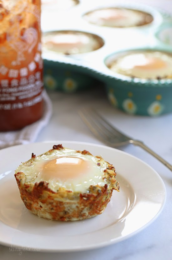 Delicious Baked Eggs in Spaghetti Squash Nests