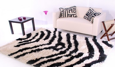 tapis zèbré
