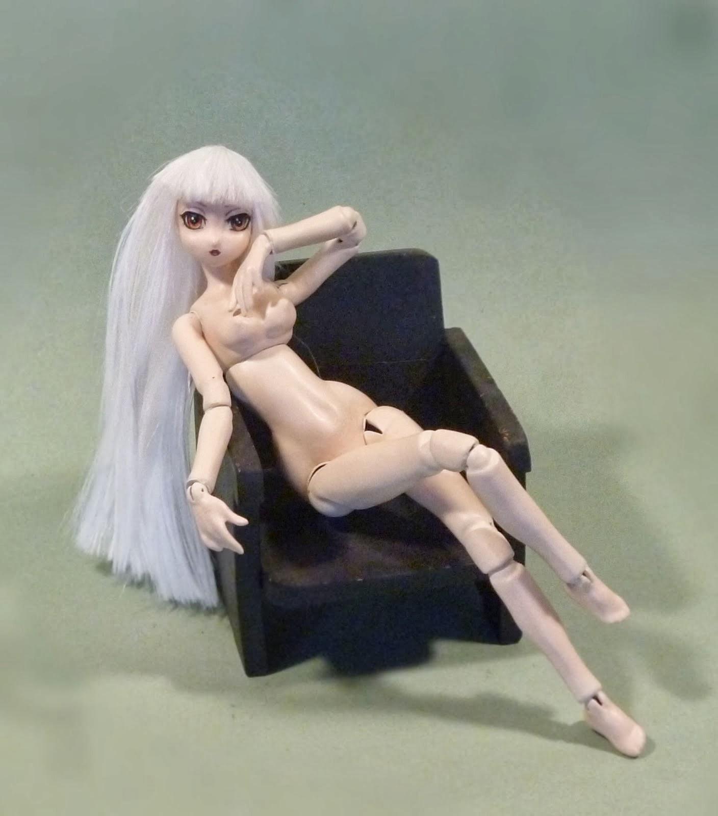 Muñeca estilo anime