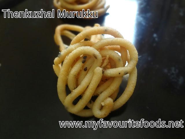 Thenkuzhal Murukku