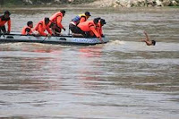 Pencarian orang tenggelam