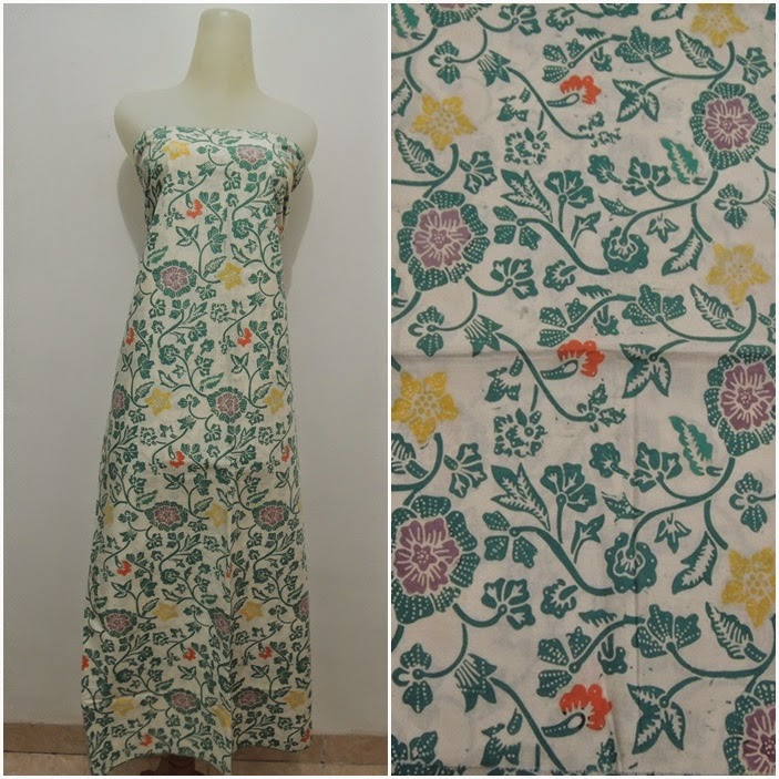 Palastri Shop  Gabriella Shop kain batik cap kombinasi tulis