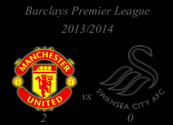 Manchester United vs Swansea City Result January 2014