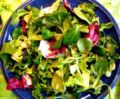 grüner Salat-Mix