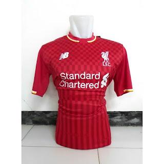 baju bola enkosa sport toko online baju bola kualitas grade ori made in thailand Kaos bola Liverpool home New Balance musim 2015/2016