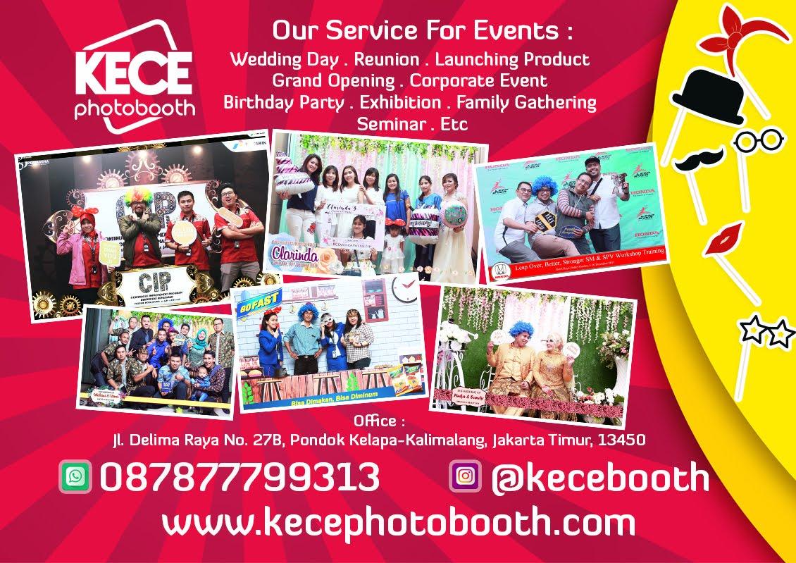KECE Photobooth Jasa Photo Booth Murah Jakarta, Bekasi, Depok