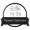 "Insignia digital ""Flipped Classroom"""