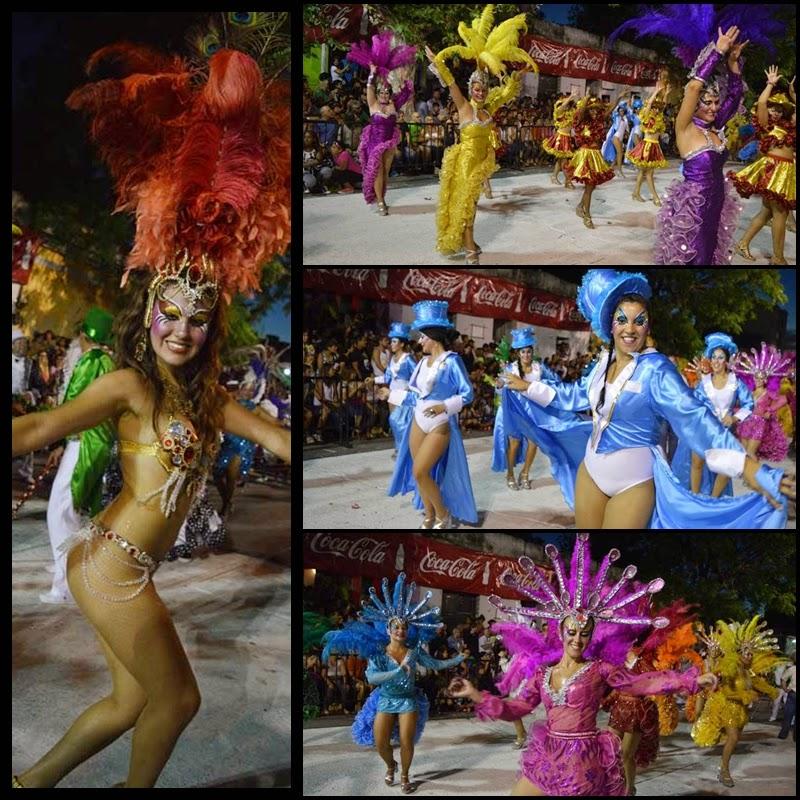 Carnaval. Desfile de Llamadas. Yambo Kenia.