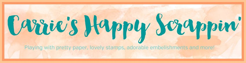 Carrie's Happy Scrappin': Scrapbook Ideas, cardmaking, and Inspiration