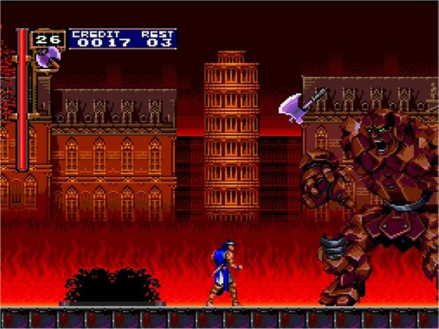 Life In 16 Bit Castlevania Dracula X Chronicles