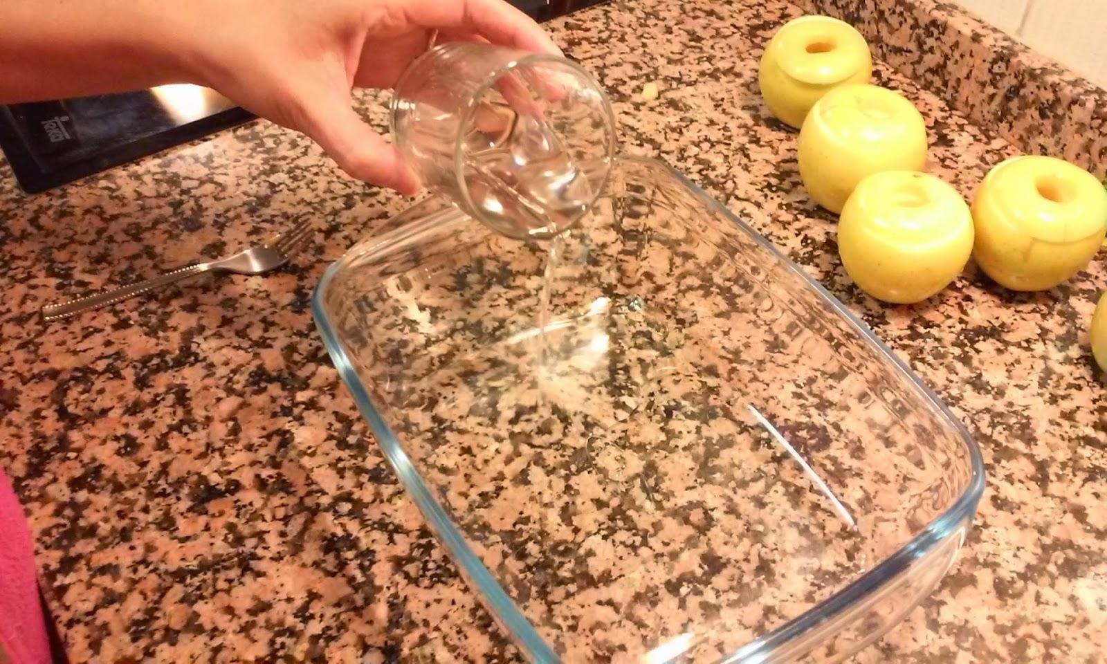 preparamos receta manzanas al horno