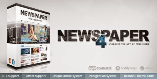[Nulled] Newspaper v4.6 – Themeforest Premium WordPress Theme