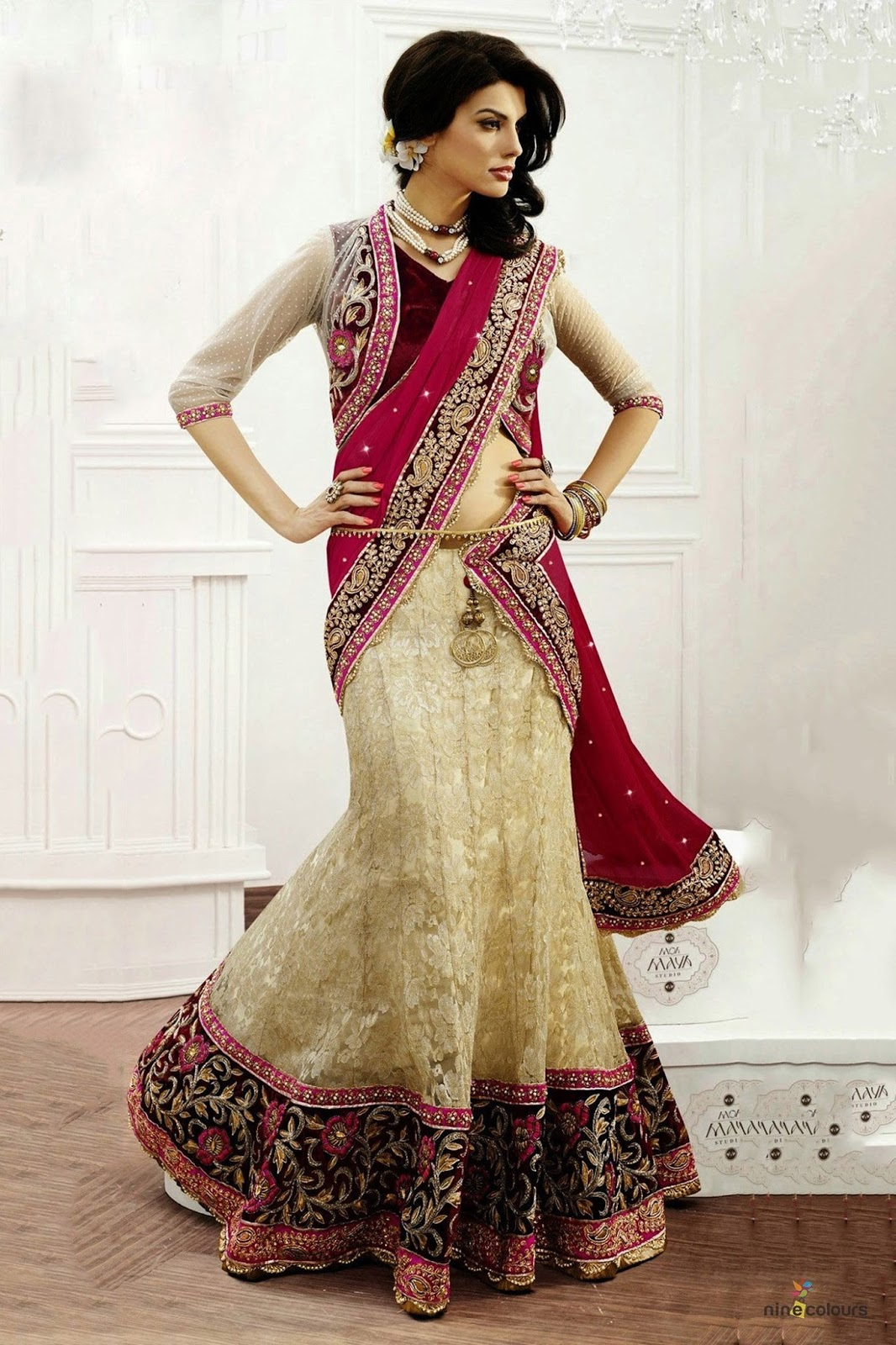 latest collection online  designer lehengas online shopping