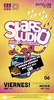 Flyer Viernes StarsStudio Bangaloo 7 de Mayo