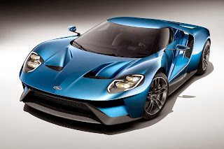 Ford GT (2017 Rendering) Front Side 1